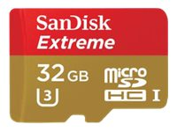 SanDisk 32GB Extreme microSDHC Flash Memory Card, Class 10