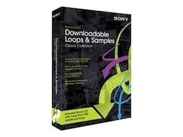 Sony Download Loops Classic Collect, MDLCC10, 10927563, Software - Music, Recording & Sound Editing
