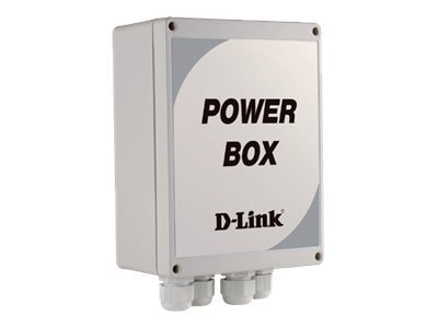 D-Link Outdoor Power Box, 100-115VAC Input, 24VAC Output, DCS-80-5, 14055985, AC Power Adapters (external)