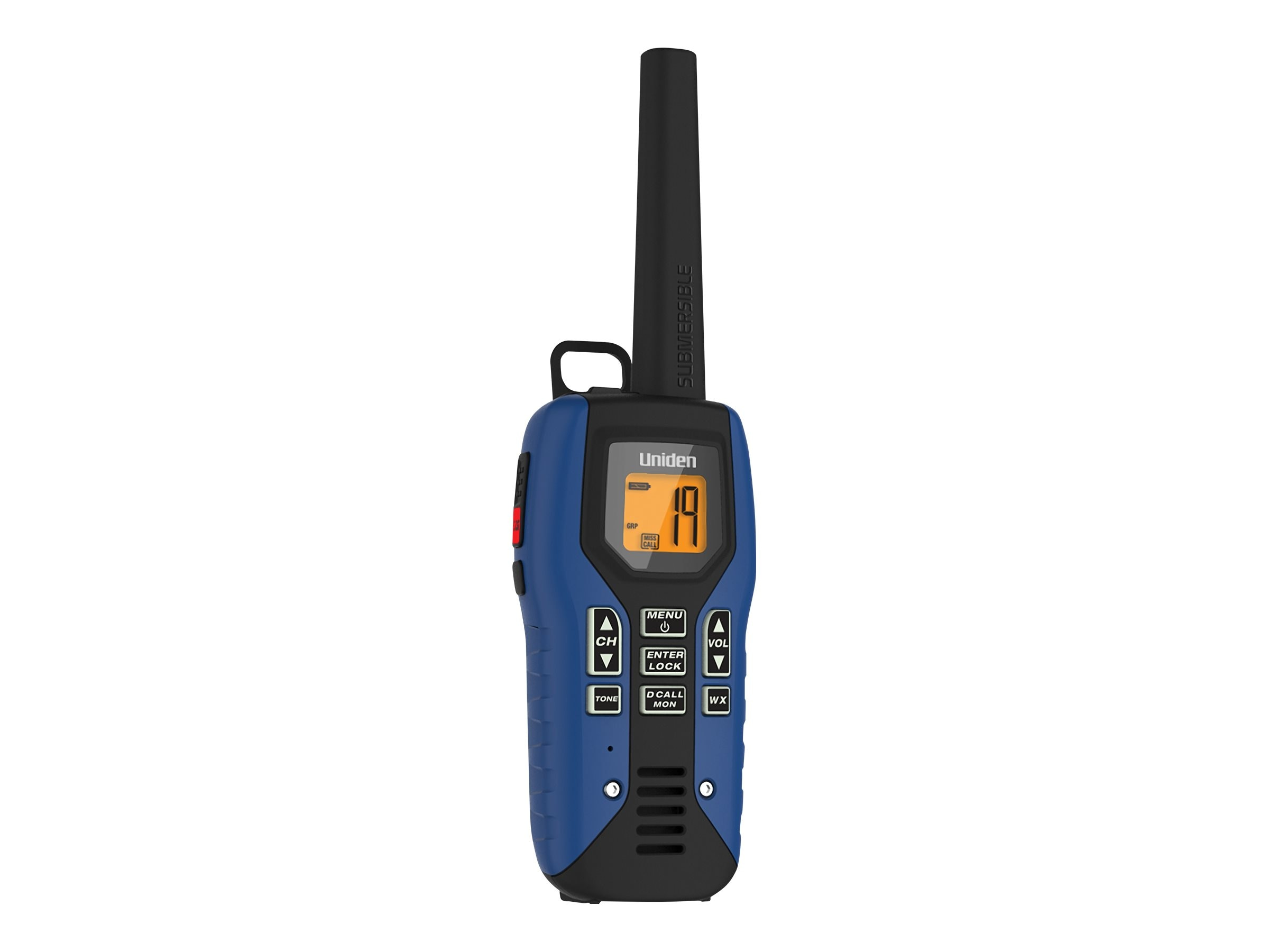 Uniden GMRS FRS 50-Mile Radio w  Privacy Codes, Weather Alerts & Headsets, GMR5095-2CKHS