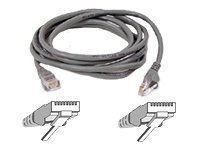 Belkin Cat5e Patch Cable, Gray, Snagless, 14ft, A3L791-14-S, 40830, Cables