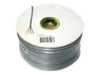 C2G 4 Conductor Silver Satin Modular 28AWG Cable Reel 1000ft, 07193, 6240232, Cables