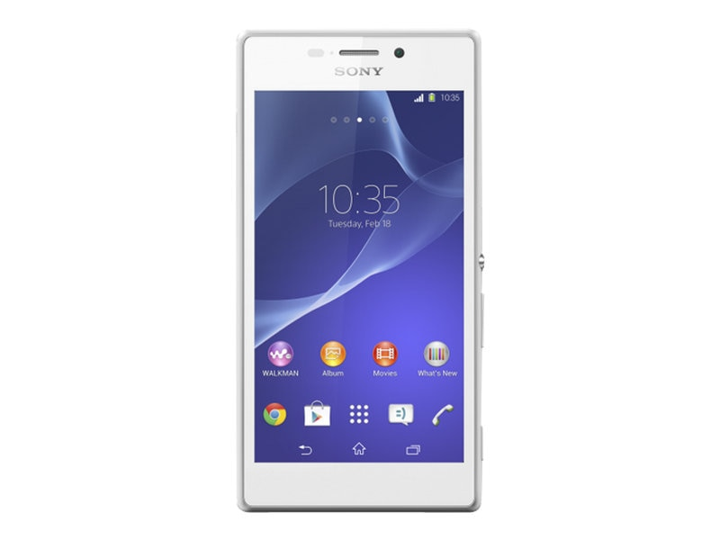 Sony XPERIA M2 HSPA+ SS D2305 Phone - White, 1281-8565, 17227463, Cellular Phones