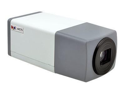 Acti 2MP Day Night Extreme WDR Zoom Box Camera with 4.9-49mm Verifocal Lens, E219