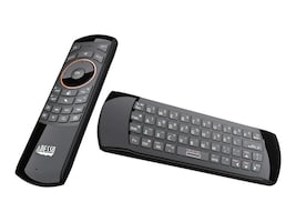 Adesso 2-in-1 Air Mouse & Keyboard Remote, WKB-4030UB, 31474874, Keyboard/Mouse Combinations