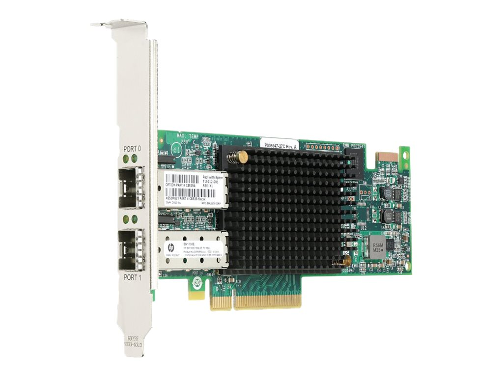 HPE Smart Buy StoreFabric SN1100E 16Gb Single Port Fibre Channel Host Bus Adapter, C8R38SB, 18142082, Host Bus Adapters (HBAs)