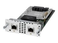 Cisco 2-Port Multiplex Channelized Data T1 E1 Module, NIM-2CE1T1-PRI, 25743062, Network Voice Router Modules