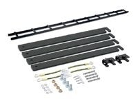 APC Cable Ladder, 6 Wide with Ladder Attachment Kit, Black, AR8164ABLK, 421828, Rack Cable Management