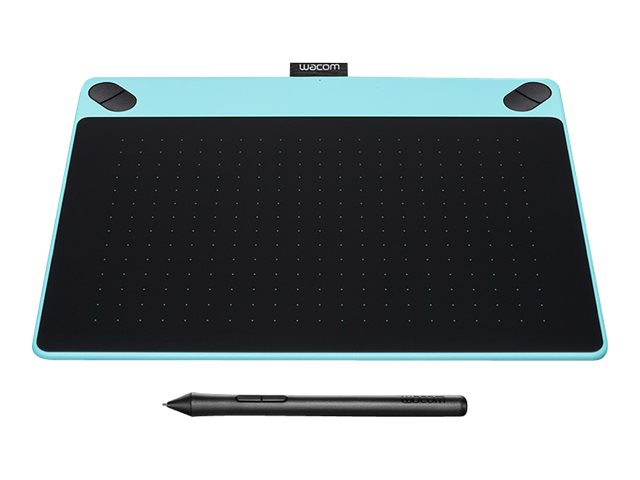 Wacom Intuos Art Pen and Touch Tablet, Medium, Blue, CTH690AB