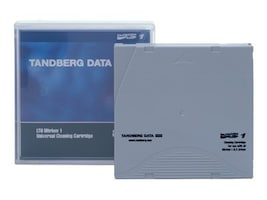 Tandberg Data LTO Ultrium Universal Cleaning Cartridge, 432631, 5430528, Tape Drive Cartridges & Accessories