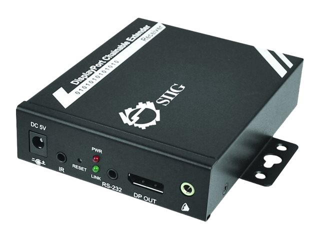Siig DisplayPort to CAT5e HD Repeat, CE-DP0611-S1, 17713146, Network Repeaters