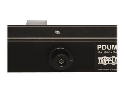 Tripp Lite Metered PDU 1.4kW 120V 15A Single-Phase 0U RM 5-15P 15ft Cord (8) 5-15R Outlets, PDUMV15-24