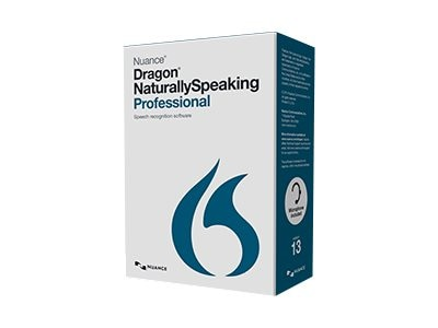 Nuance Dragon NaturallySpeaking Professional 13.0 Retail Edition - English, A209A-G00-13.0, 17719273, Software - Voice Recognition