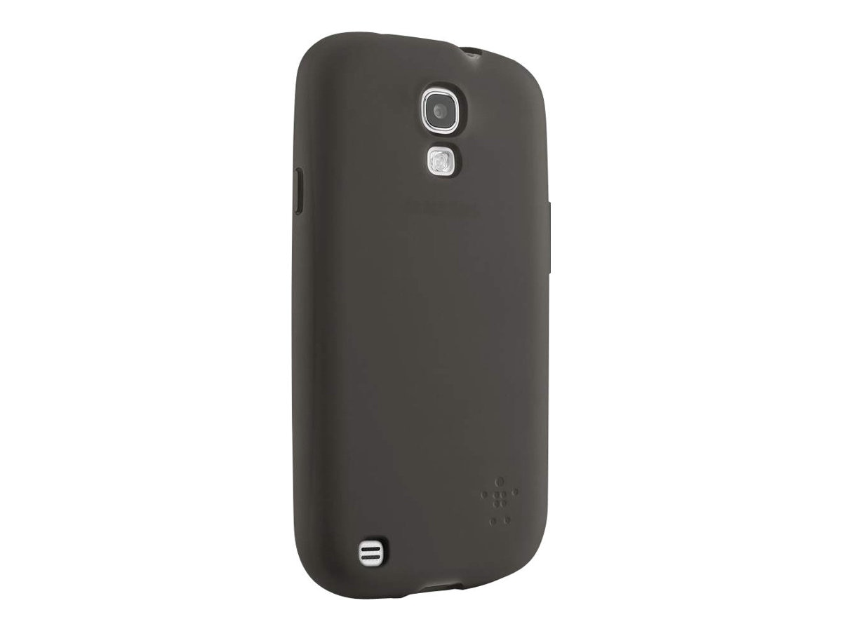 Belkin Grip Sheer Matte Case for Samsung Galaxy S4, Blacktop, F8M551BTC00, 15961200, Carrying Cases - Phones/PDAs