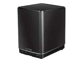 D-Link ShareCenter+ 4-Bay Cloud Network Storage Enclosure, DNS-340L, 18698996, Network Attached Storage