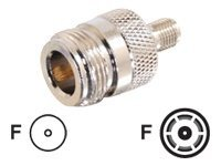 C2G N-Female to SMA Female Adapter, 42210, 9076440, Premise Wiring Equipment