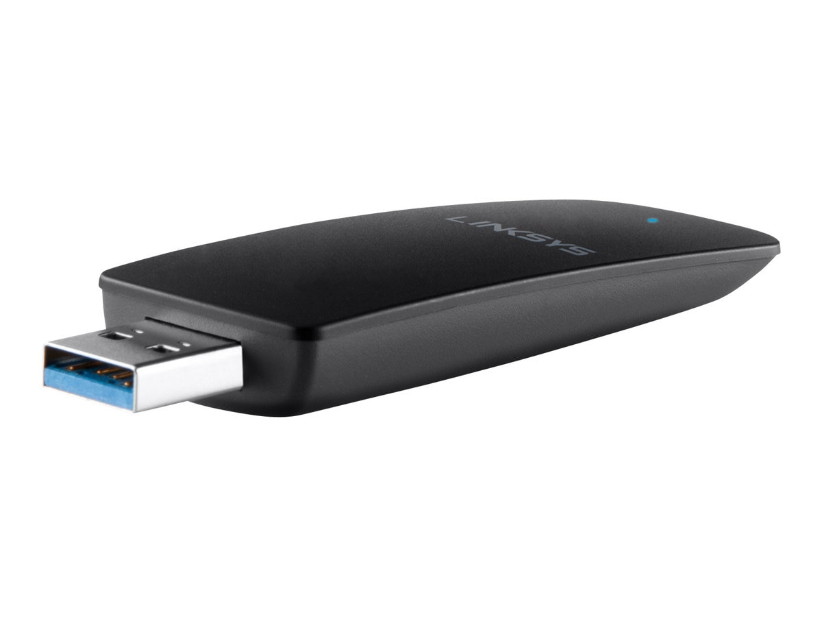 Linksys Dual Band Wireless N600 USB Adapter, AE2500-NP, 16041106, Wireless Adapters & NICs