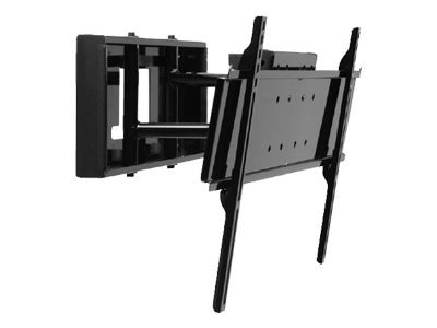 Peerless HG-Series Pullout Mount for 32-65 Flat Panels up to 150 lbs., Black, SP850-UNLP-GB, 7409394, Stands & Mounts - AV
