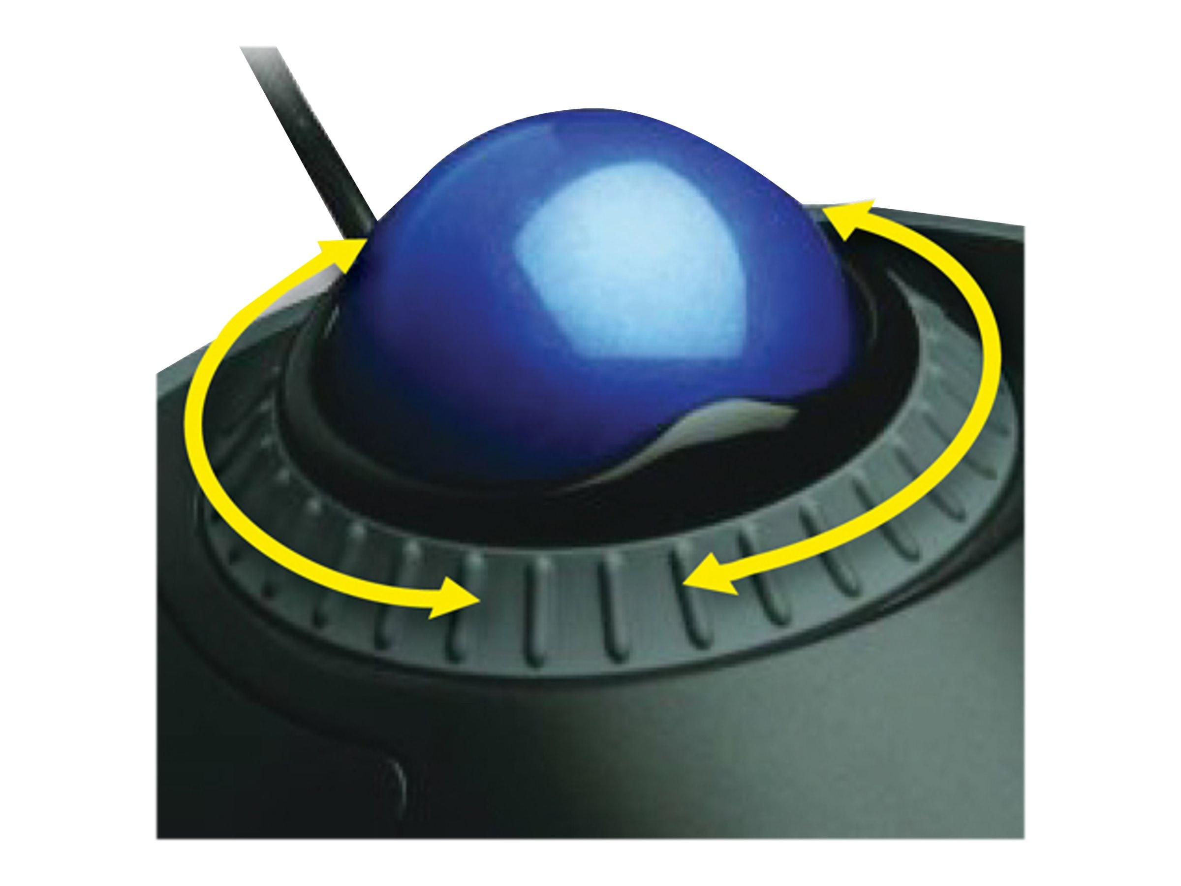 Kensington Orbit Trackball with Scroll Ring, K72337US