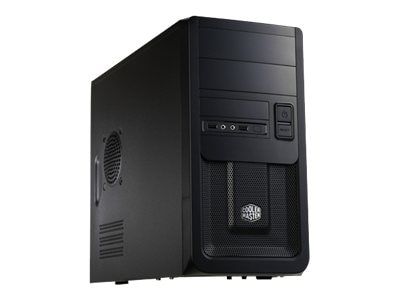 Cooler Master Mini-Tower Elite 343, MATX, 2x5.25 Bays, 6x3.5 Bays, 1x120mm Fan, Black, RC-343-KKN1, 12491388, Cases - Systems/Servers