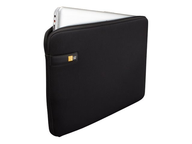 Case Logic 17 Laptop Sleeve, Black, LAPS-117BLACK, 12623141, Protective & Dust Covers