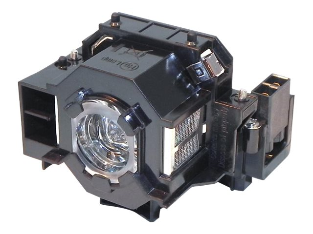 Ereplacements Front projector lamp Epson EB-S62, EB-TW420, EB-X6, EH-TW420, EMP-260, EMP-77, EMP-S5, ELPLP41-ER, 11474236, Projector Lamps