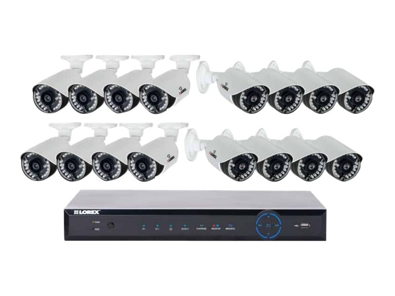 Lorex 16-Channel 960H Surveillance System with 2TB HDD and (16) 700 TVL Cameras, LH16162TC167B, 19911787, Video Capture Hardware