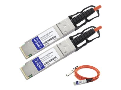 ACP-EP Dell Compatible 40GbE QSFP+ Active Fiber Cable, 50m, CBL-QSFP-40GE-50M-AO