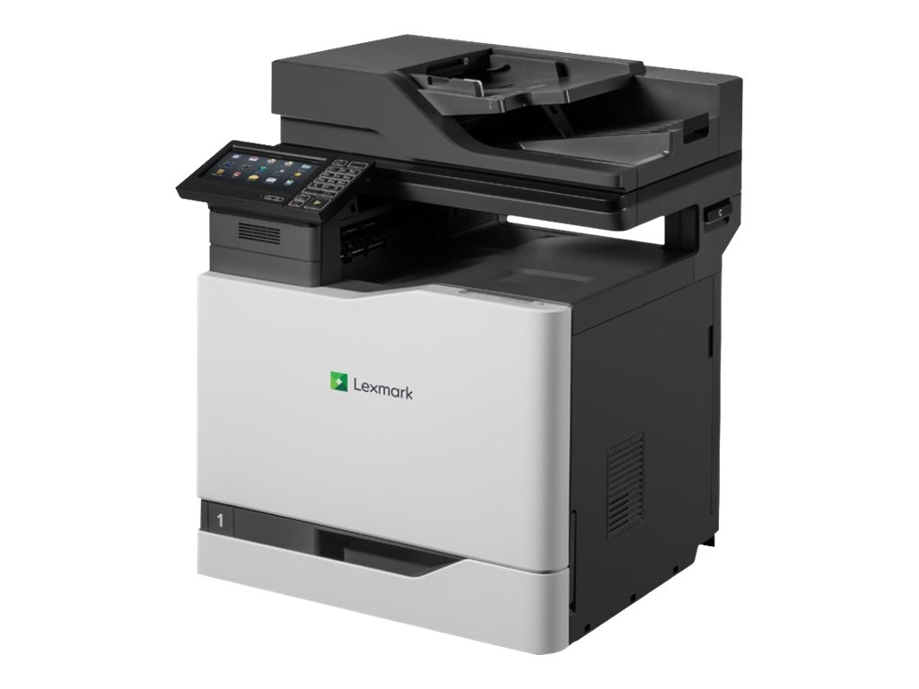 Lexmark CX820dtfe Multifunction Color Laser Printer (TAA Compliant), 42KT012