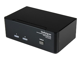 StarTech.com 2 Port KVM Switch, DVI, VGA Dual Monitor, SV231DDVDUA, 10906033, KVM Switches