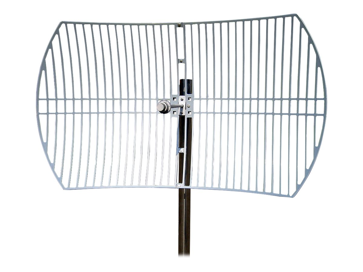 TP-LINK 5GHz 30dBi Outdoor Directional Grid Parabolic Antenna, N Type Female Connector