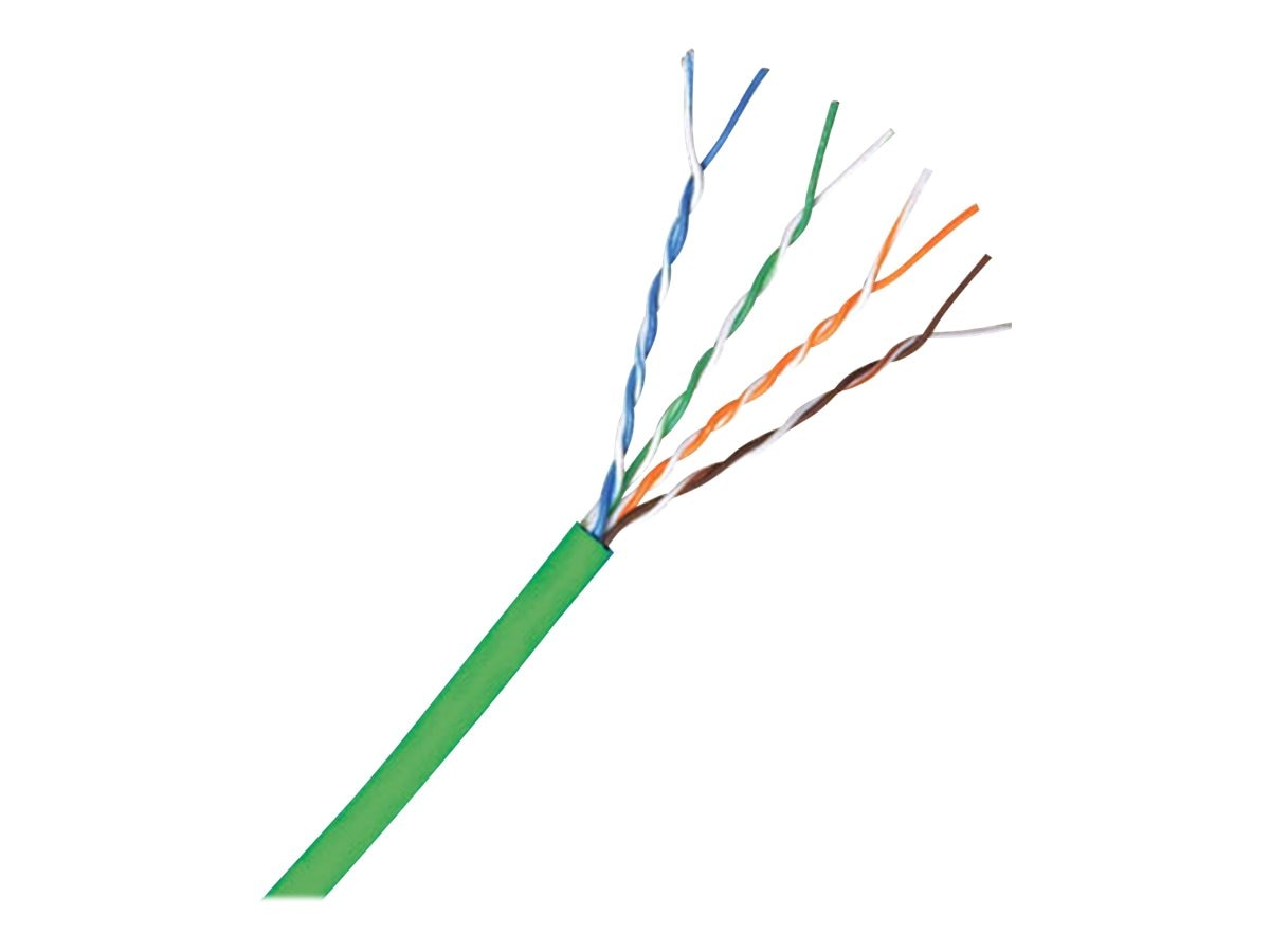 Comprehensive Cat5e 350MHz Solid Cable, Green, 1000ft, C5E350GRN-1000, 15786819, Cables