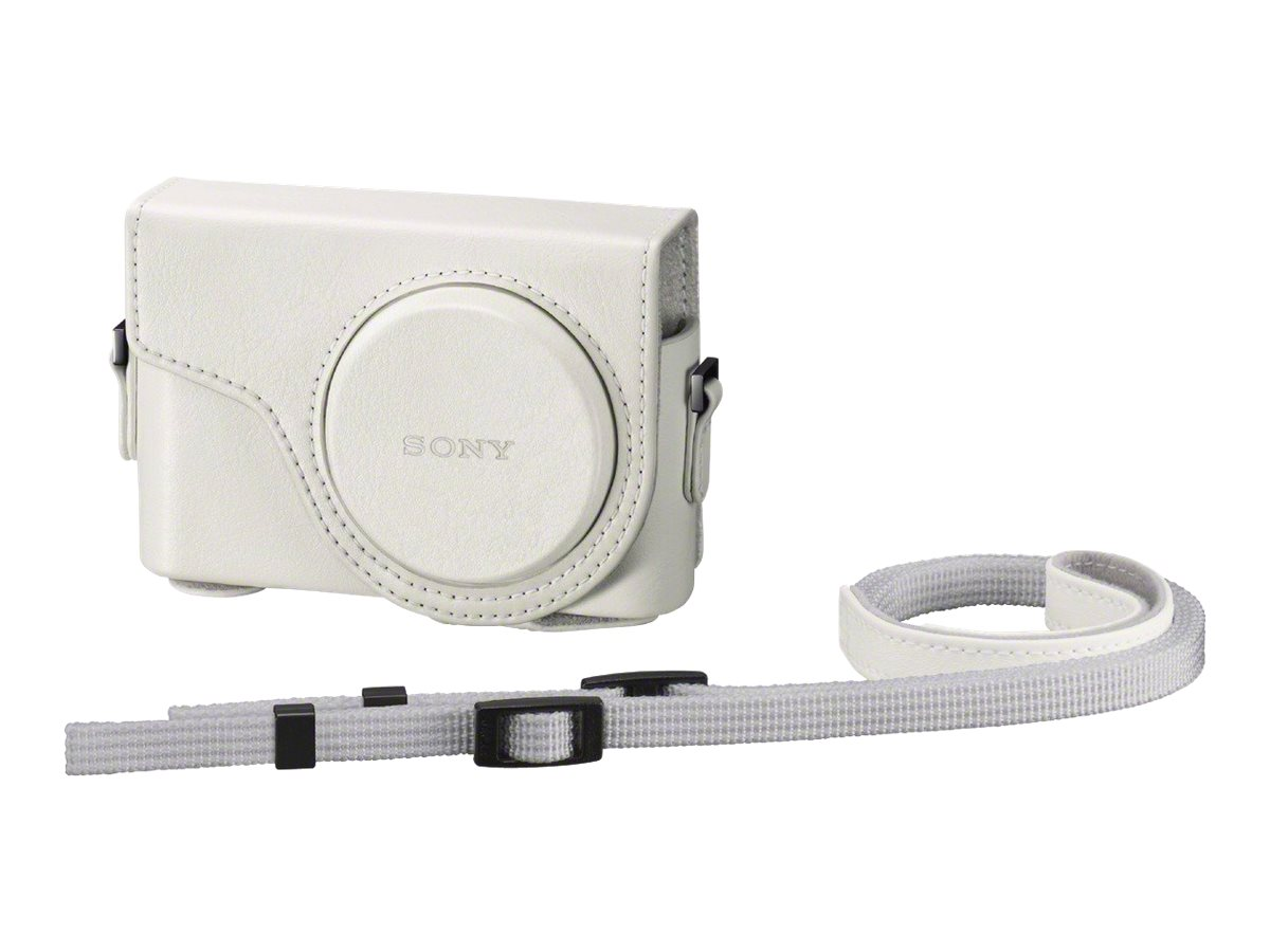 Sony Semi-Hard Carrying Case for Cyber-shot HX300 Digital Camera, White