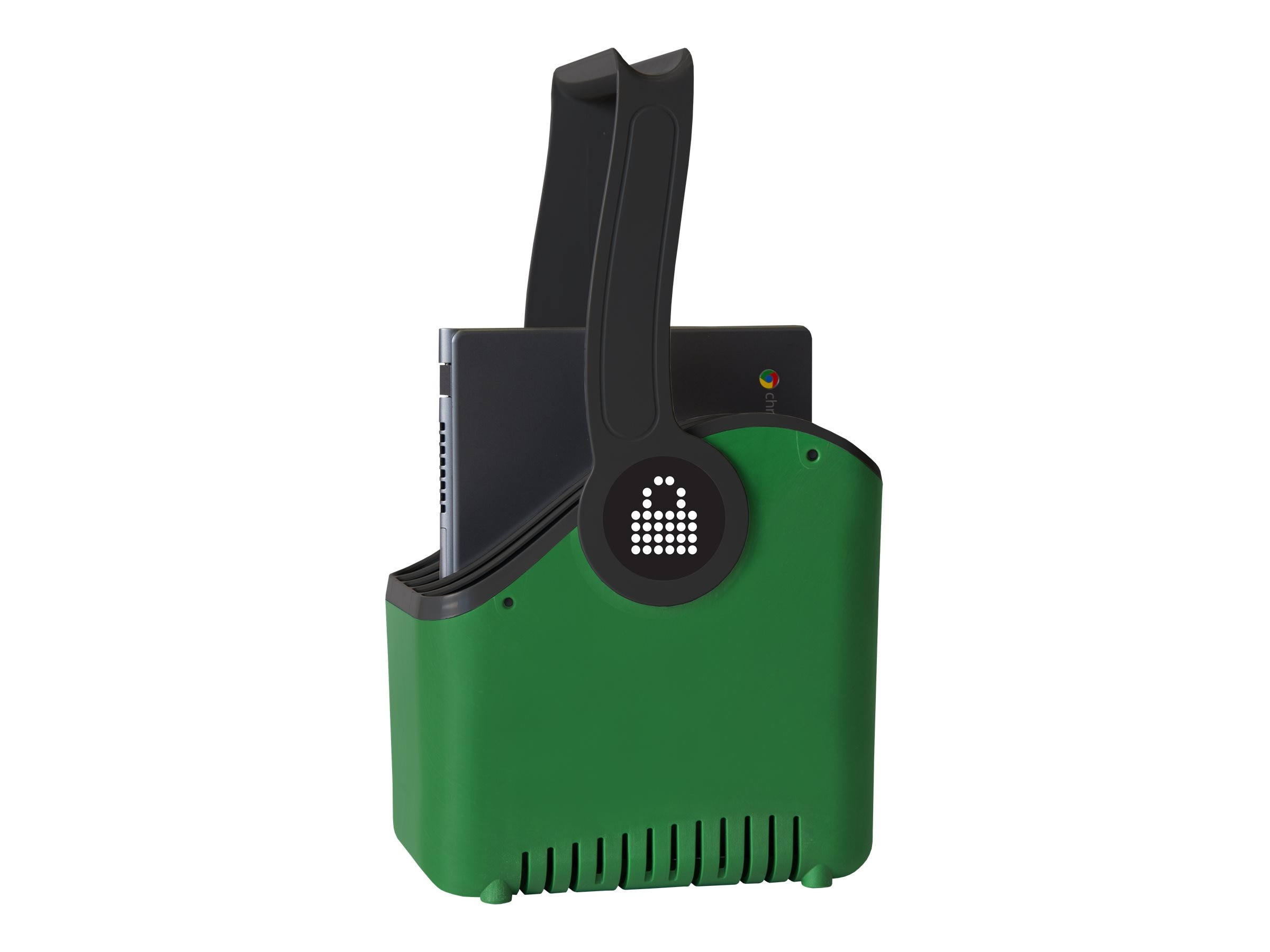 Lock N Charge Large Plastic 5 Slot Device Basket, LNC7058, 30661635, Cart & Wall Station Accessories