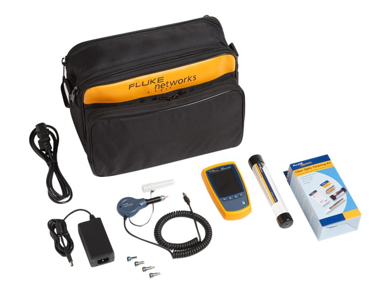 Fluke Fiber Optic Inspection Camera with Cleaning Supplies, FI-525
