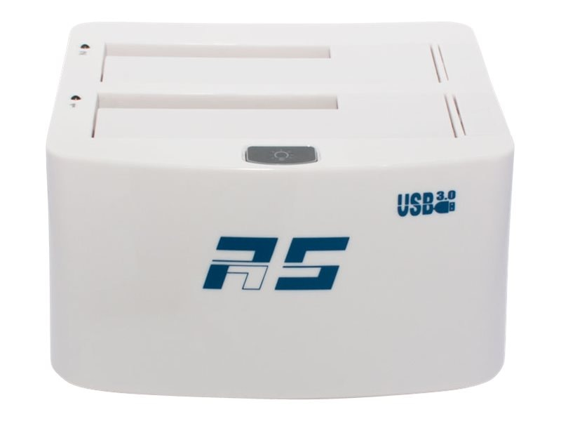HighPoint 2-Bay USB 3.0 2.5 3.5 SATA Hard Drive Solid State Drive Dock, RS5422A, 18193040, Hard Drive Enclosures - Multiple
