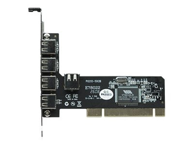 Manhattan 4-Port Hi-Speed USB PCI Card