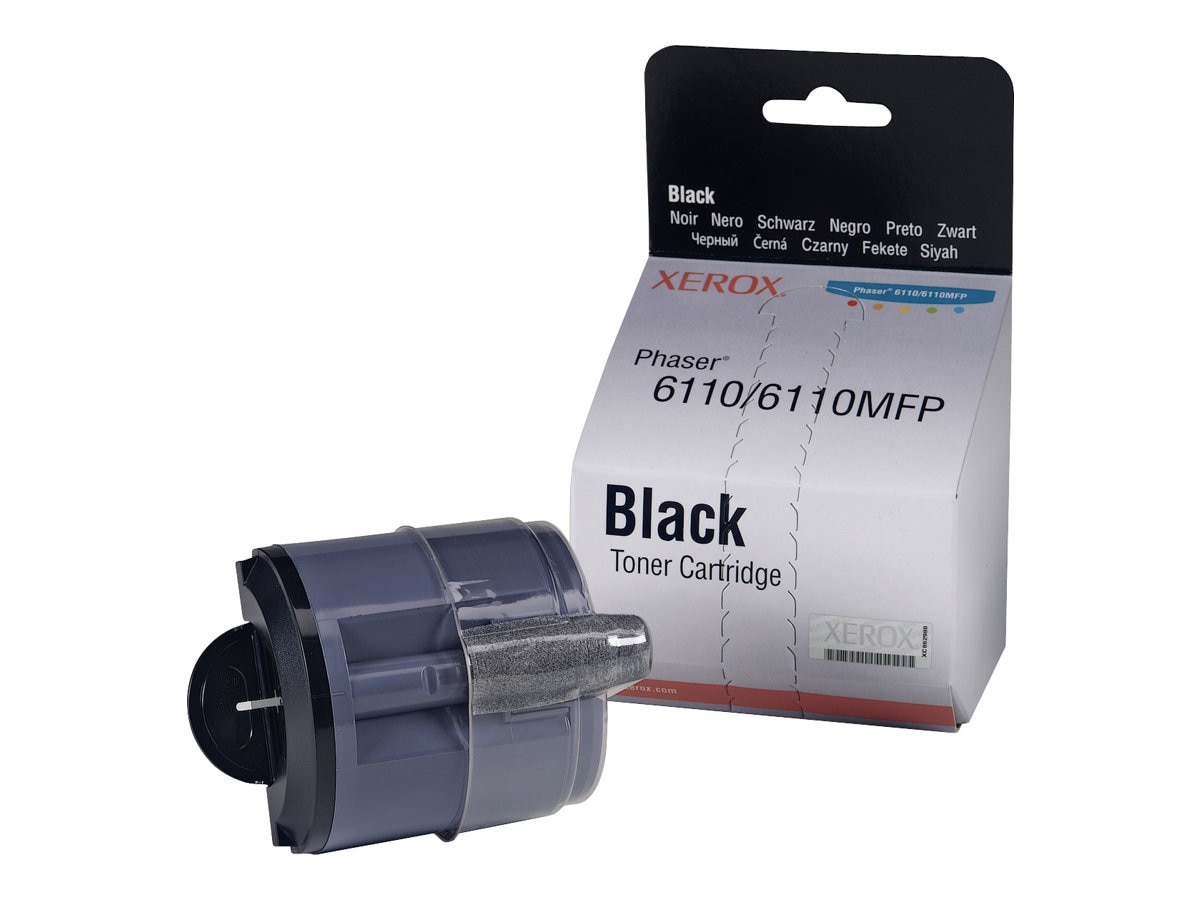 Xerox Black Toner Cartridge for Xerox Phaser 6110 & 6110MFP, 106R01274