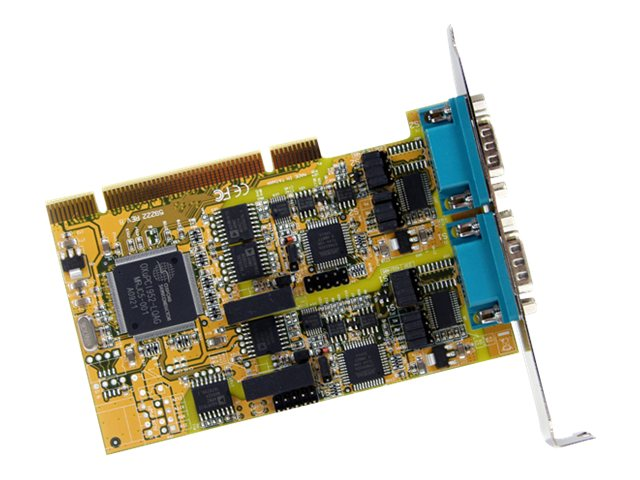 StarTech.com 2-Port RS232 422 485 PCI Serial Adapter Card with ESD Protection