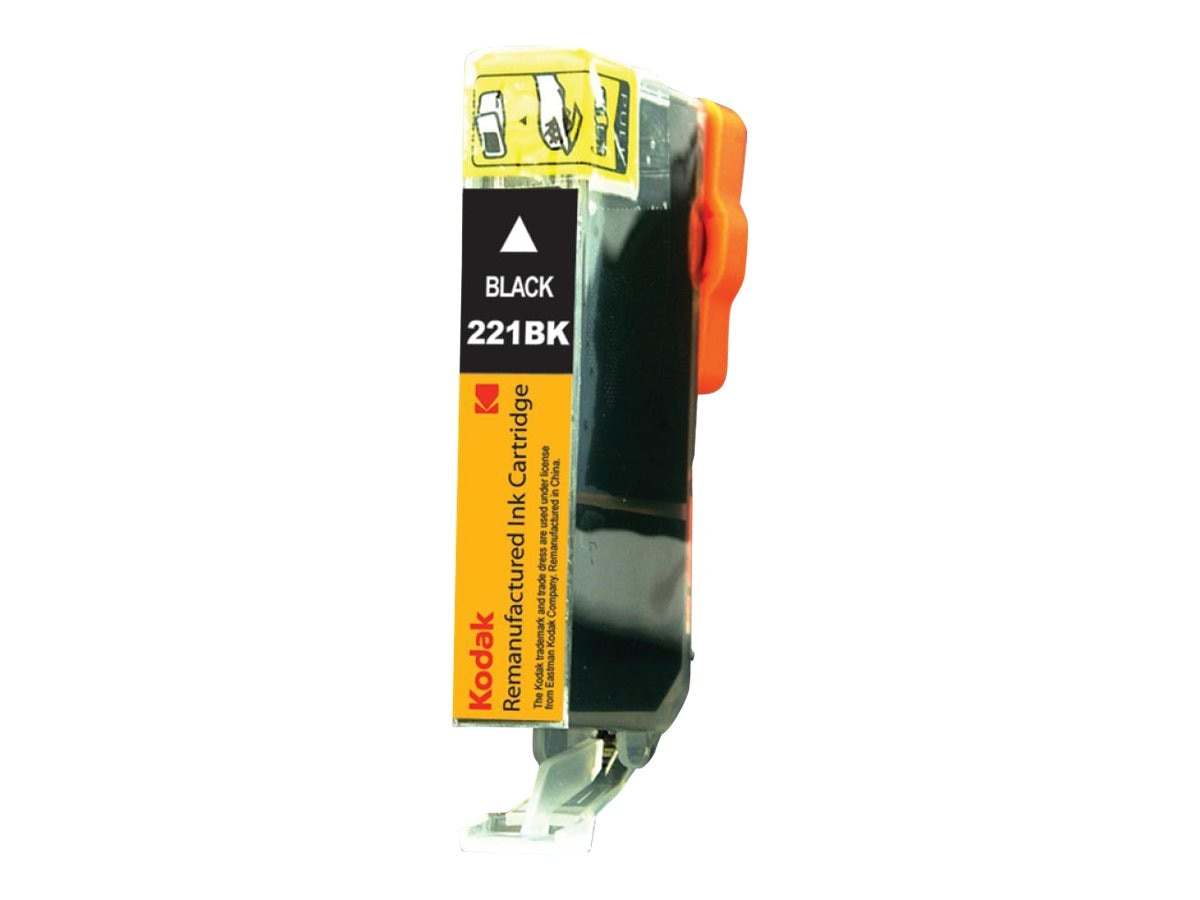 Kodak 2946B001 Black Ink Cartridge for Canon, CLI-221BK-KD, 31286347, Ink Cartridges & Ink Refill Kits