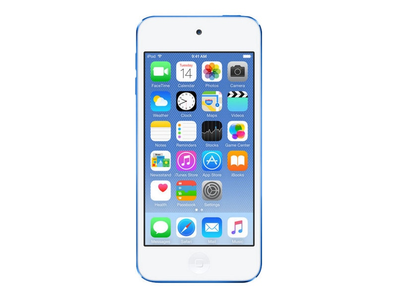 Apple 64GB iPod touch - Blue, MKHE2LL/A, 26411721, DMP - iPod Touch
