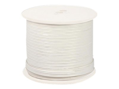 Night Owl Shielded RG-59 CCTV Cable with Video, Power, 18AWG, White, 500ft, CAB-RG59W-500VP