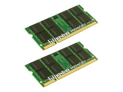 Kingston 4GB PC2-5300 200-pin DDR2 SDRAM SODIMM Kit For Select iMac, MacBook, MacBook Pro Models, KTA-MB667K2/4G, 7375139, Memory