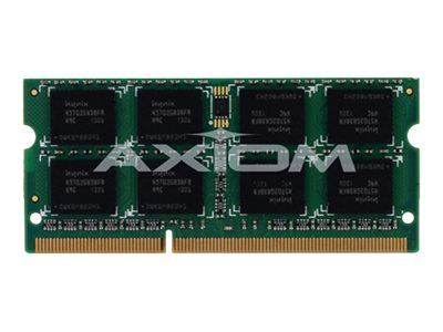 Axiom 4GB PC3-10600 DDR3 SDRAM SODIMM, AX31333S9Y/4L, 17053900, Memory