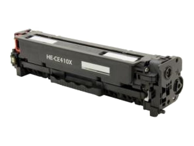 Ereplacements CE410X Black High Yield Toner Cartridge for HP LaserJet Pro Printers, CE410X-ER, 18373796, Toner and Imaging Components
