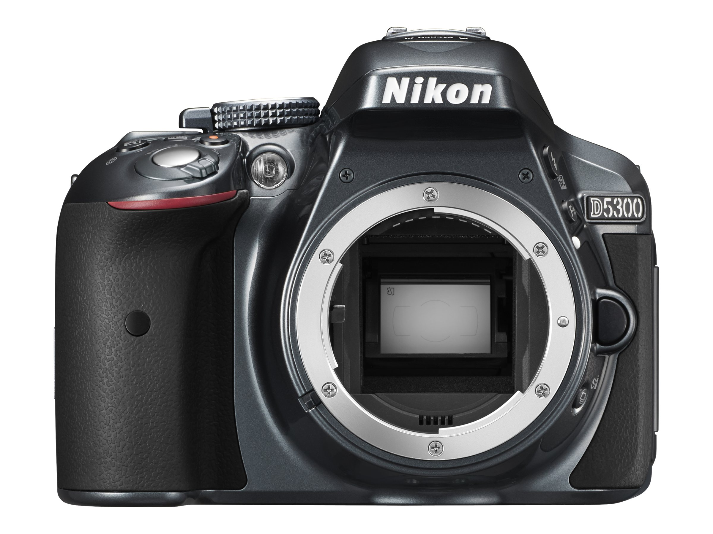 Nikon D5300 DX-Format Digital SLR Body - Grey, 1521, 16466956, Cameras - Digital - SLR