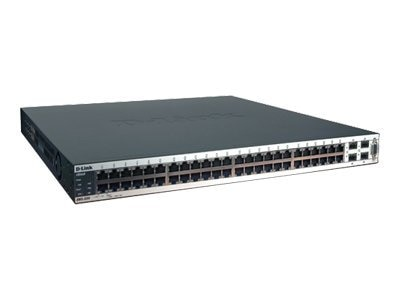 D-Link XStack 48-Port Gigabit L2+ Wireless Switch with 10 AP License, DWS-3250, 6310472, Network Switches