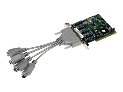 StarTech.com 4 Port Buffered High Speed Intelligent Serial PCI Card