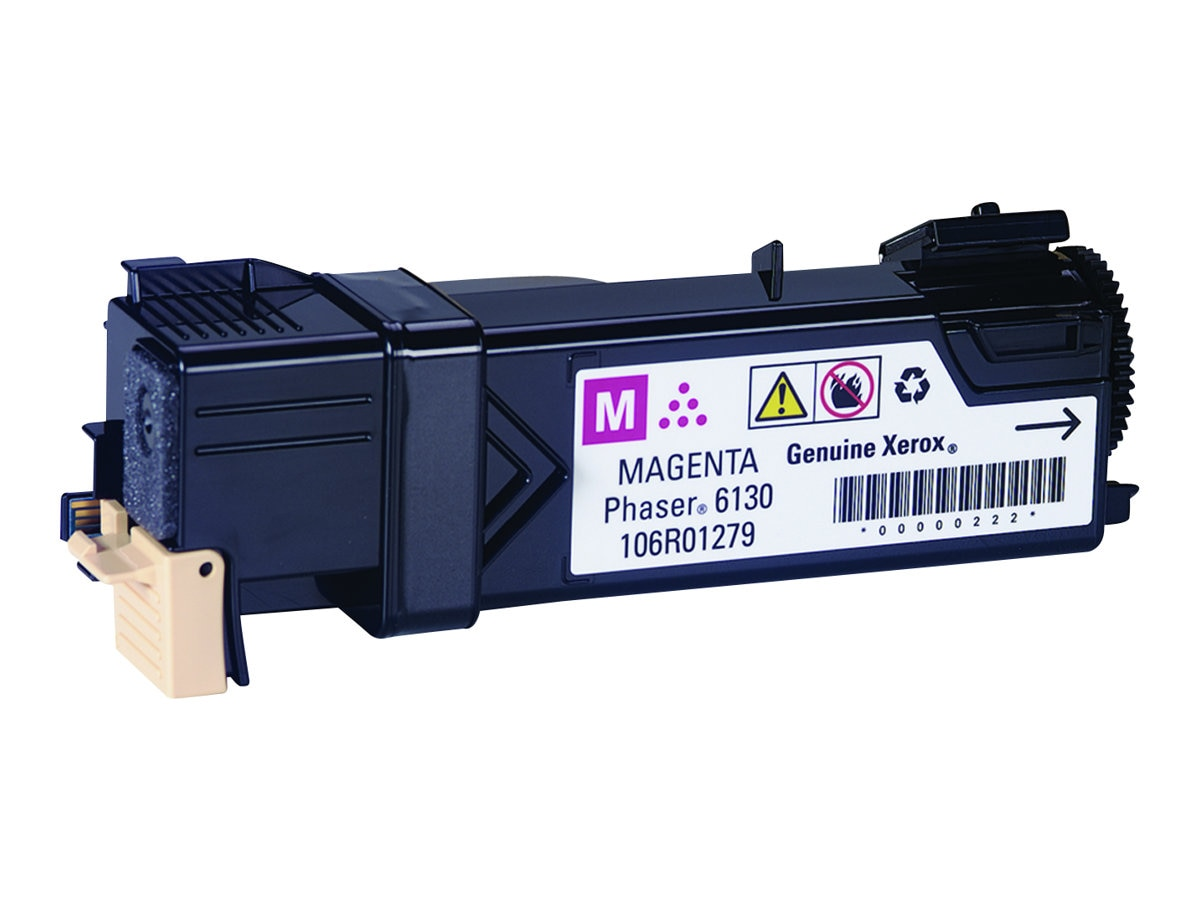 Xerox Magenta Toner Cartridge for Phaser 6130 Printer, 106R01279