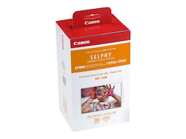 Canon RP-108 Postcard Paper & Ink (108 Sheets), 8568B001, 16733436, Ink Cartridges & Ink Refill Kits